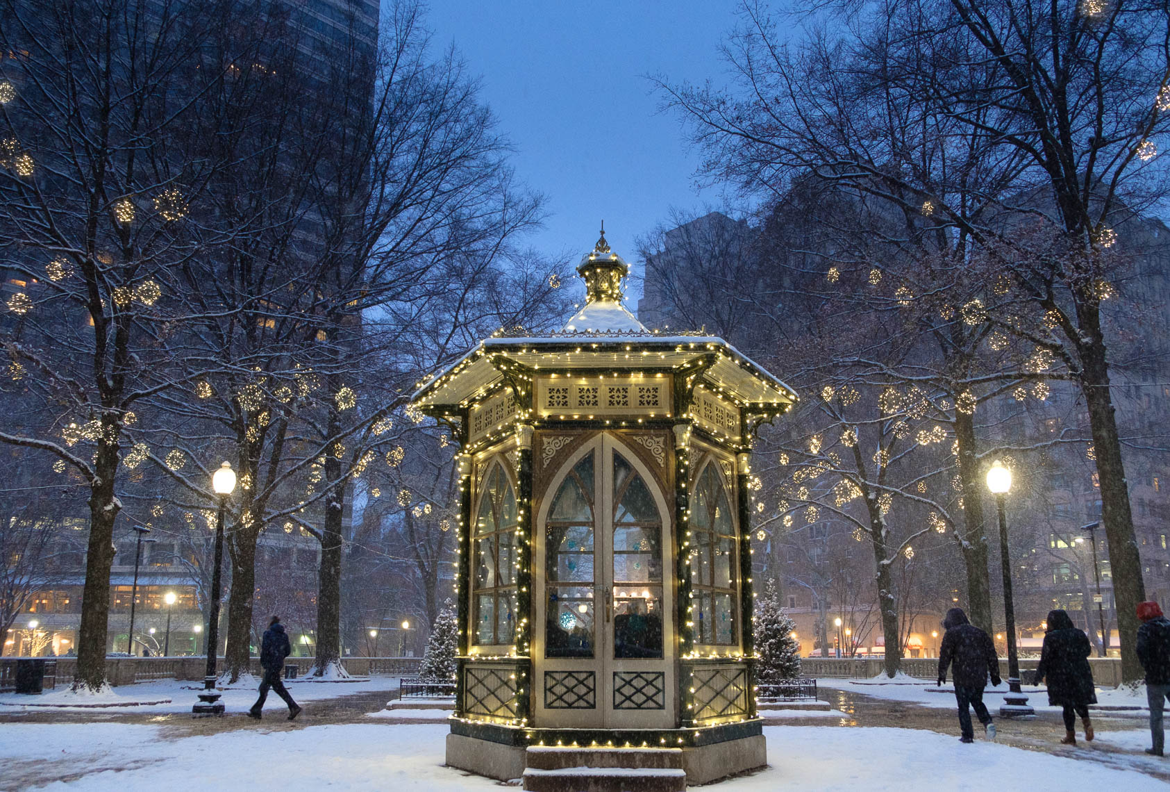 Winter in Rittenhouse Square